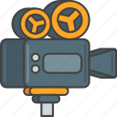 camera, device, film, movie, production, professional, video icon