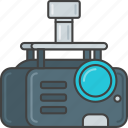 device, movie, presentation, production, project, projector icon