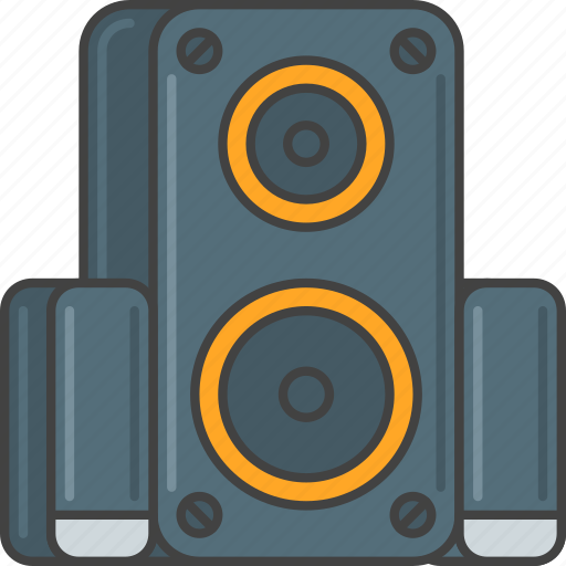 audio, loudspeaker, music, speaker, speakers icon