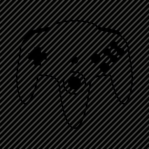 controller, gamepad, gamer, nintendo, videogame icon