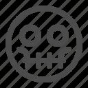 dead, emoji, emoticon, skull