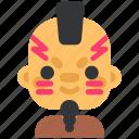 aztec, history, man, war, warrior icon