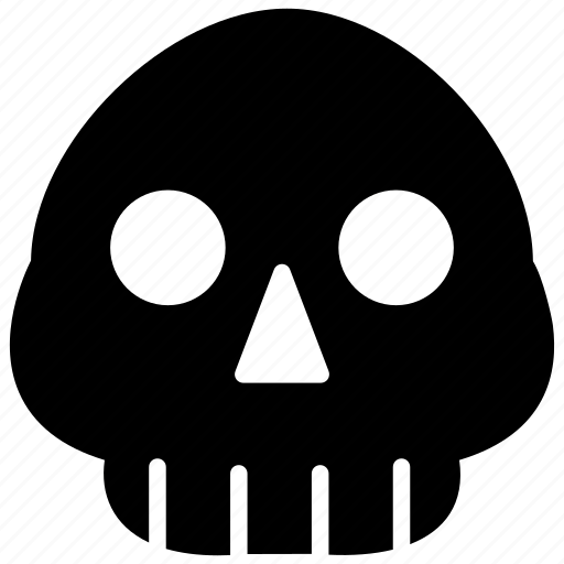 autopsy, human skull, physiology, skeleton, skull anatomy icon