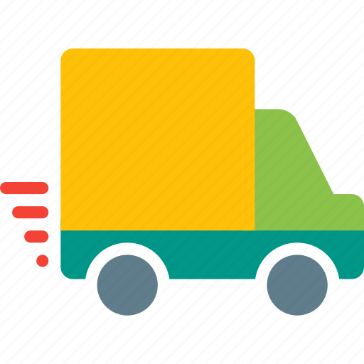 delivery, express, shipping, shopping, transport, truck, vehicle icon