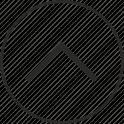 arrow, go, navigation, top icon