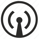 antenna, data, internet, signal, transfer icon