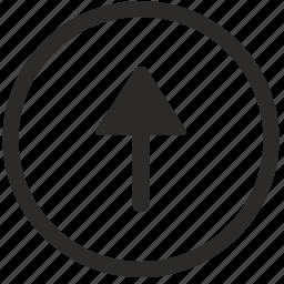 arrow, navigation, top, ui, up icon