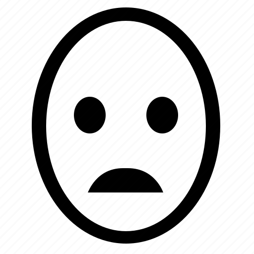 bad, face, feeling, head, mood, smiley icon