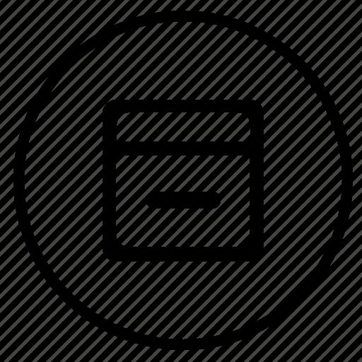 box, files, round, stock, storage icon