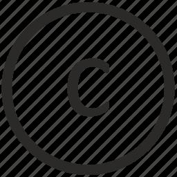 c, keyboard, lowcase, virtual icon
