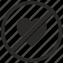cancel, dislike, function, hate icon