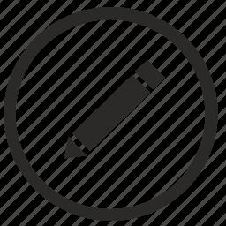 correct, edit, function, tool, write icon