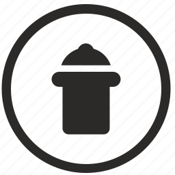 delete, files, garbage, instrument, trash, ui icon