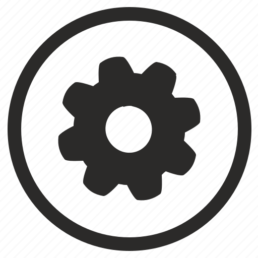 configuration, engine, gear, settings icon