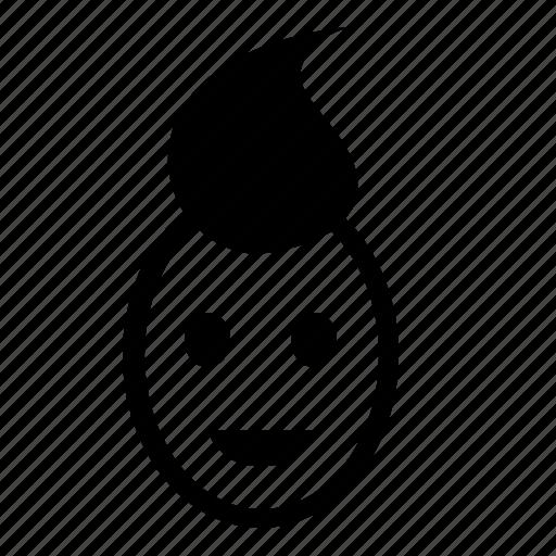 child, face, head, kid, smiley icon