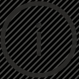i, keyboard, letter, lowcase, virtual icon