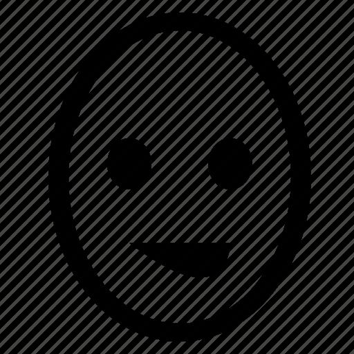 face, feeling, good, joke, mood, smiley icon