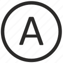 a, enter, keyboard, letter, text, virtual icon