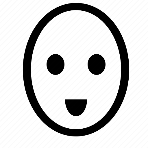 face, good, head, like, smiley icon
