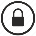 access, closed, denied, lock, ui icon