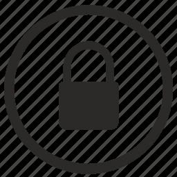 access, closed, denied, lock, ui icon