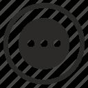 add, bar, menu, more icon