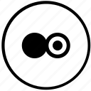 drag, drop, function, mode, round icon