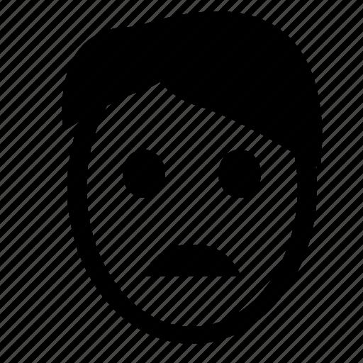 face, head, school, smiley, think icon