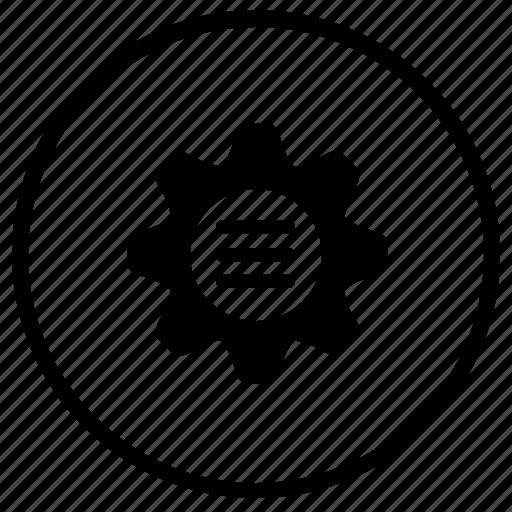 bar, menu, mobile, options, settigns icon
