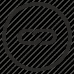 edit, function, href, html, link, round, url icon
