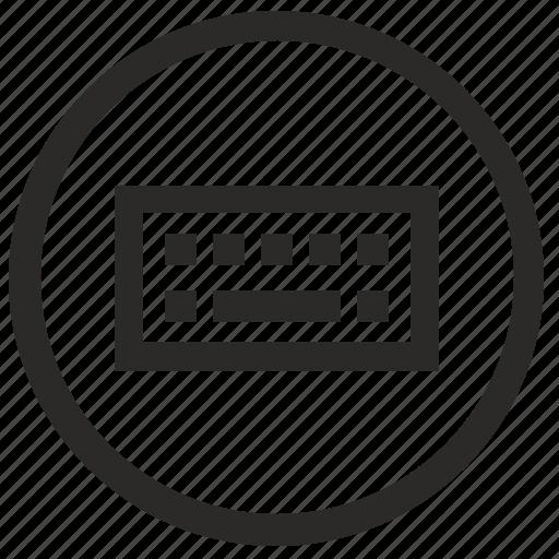 access, keyboard, view, virtual icon
