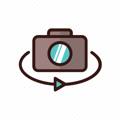 glasses, reality, video, virtual icon