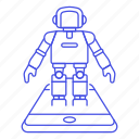 asimo, gaming, hologram, phone, reality, robot, virtual, vr icon