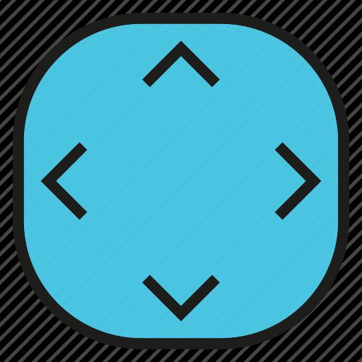 arrow, direction, rotate icon