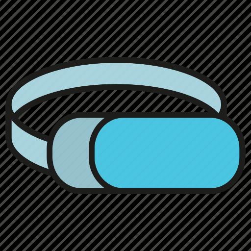 augmented reality, eyeglasses, eyewear, gadget, headset, virtual reality icon