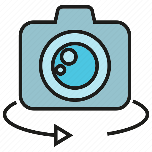 camera, device, devicee, electronic, gadget, rotate icon