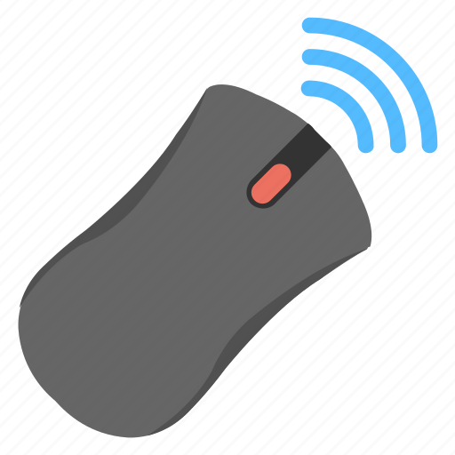 computer hardware, computer mouse, wireless device, wireless mouse, wireless technology icon