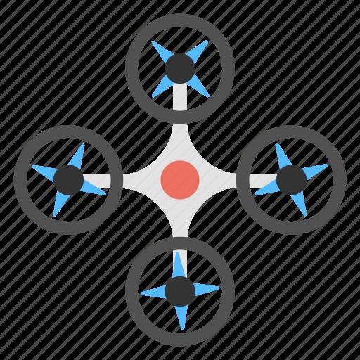 Multirotor helicopter, quadcopter, quadcopter drone, quadrotor, quadrotor helicopter icon - Download on Iconfinder
