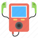 ipod, mp3 player, music player, pocket computer, portable media player icon