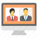 mobile collaboration, telepresence, telepresence video conferencing, video telephony, virtual presence icon