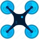 device, drone, hover, propeller, technology icon