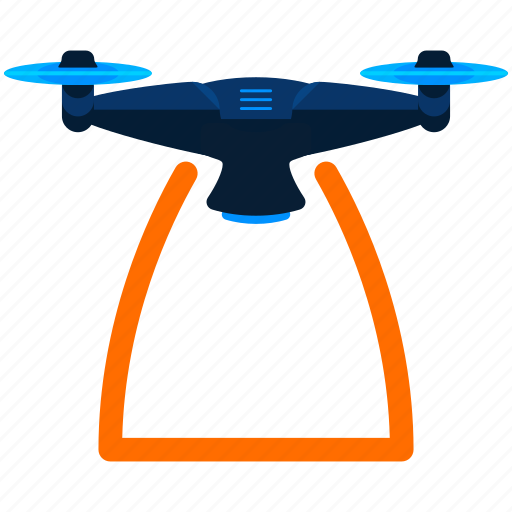 Drone, quadcopter, technology, gadget, copter, nanocopter icon - Download on Iconfinder