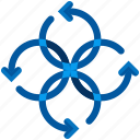 propeller, rotate icon