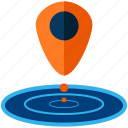 drone, gaming, location, navigation, pointer, technology icon