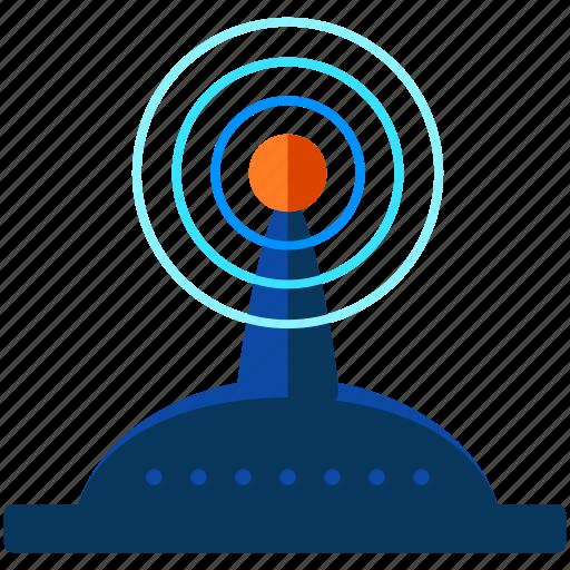 control, remote, signal icon
