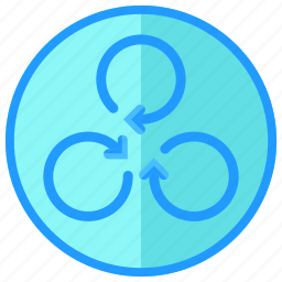 arrows, device, drone, propeller, rotate, technology icon