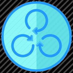 drone, rotate icon