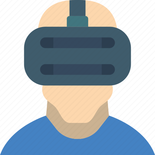 headset, reality, virtual, virtual reality, vr icon