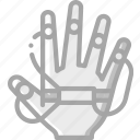hand, reality, tracking, virtual, virtual reality, vr icon