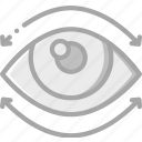 eye, movement, reality, virtual, virtual reality, vr